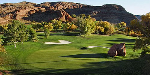 Dixie Red Hills Golf Course Utah golf packages